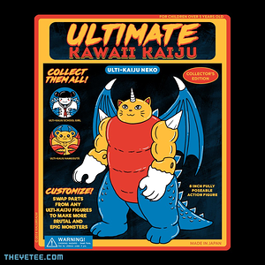 The Yetee: Ultimate Kaiju Neko