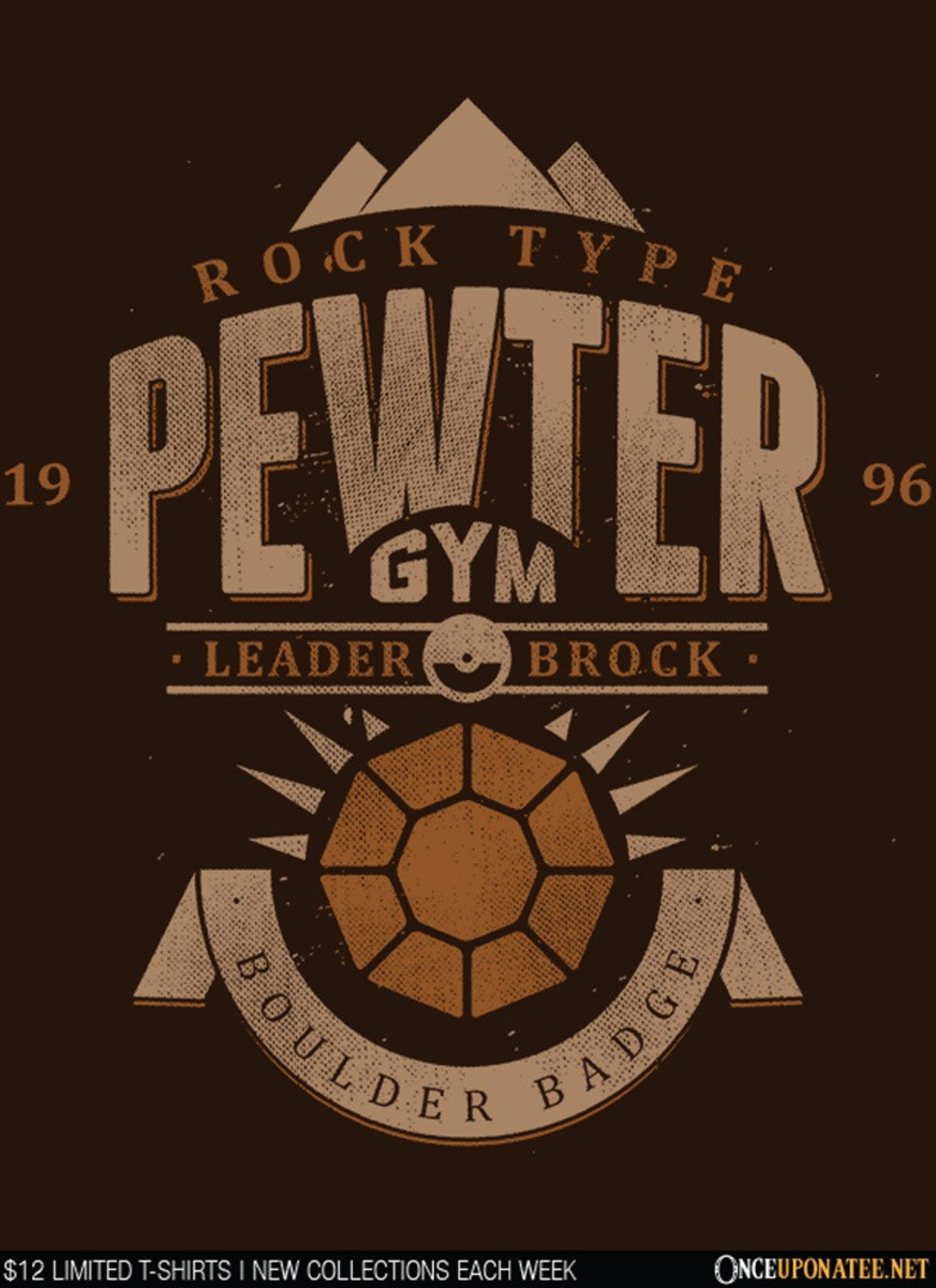 Once Upon a Tee: Pewter City Gym