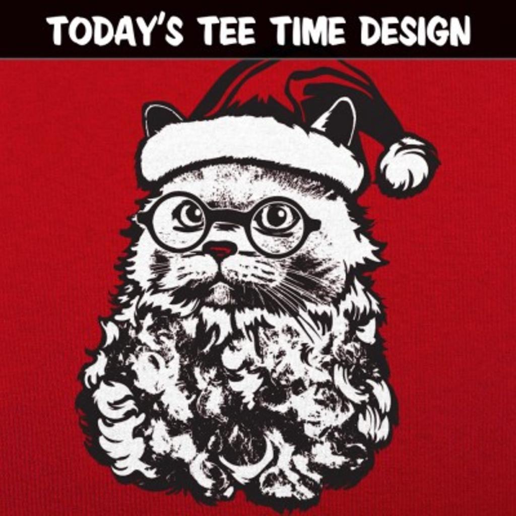 6 Dollar Shirts: Cat Santa