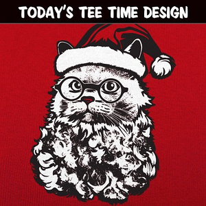 6 Dollar Shirts: Cat Santa
