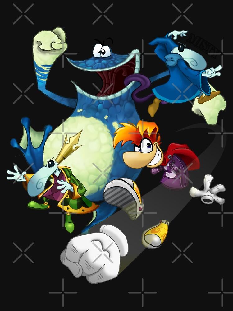 RedBubble: Rayman - Heroes
