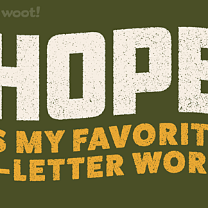Woot!: Hope Is My Favorite 4-Letter Word