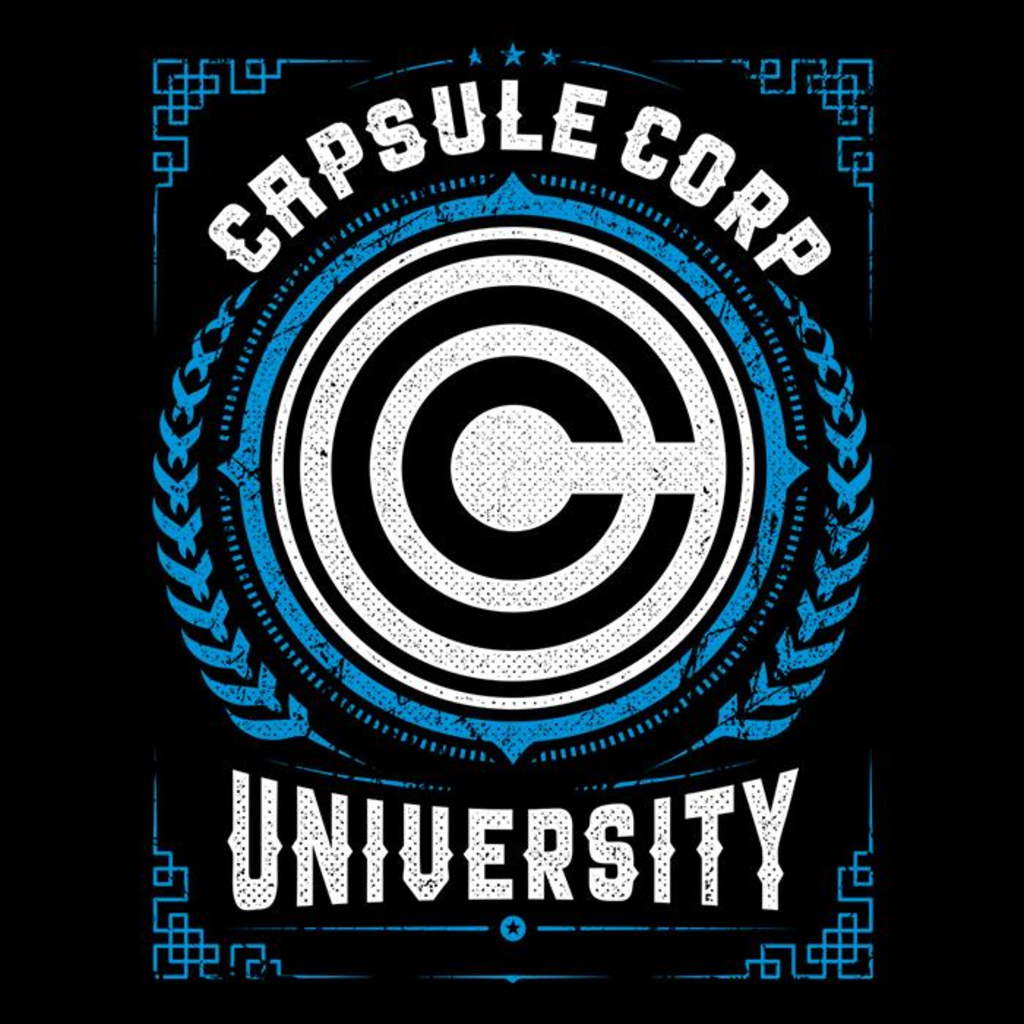 Once Upon a Tee: Capsule Corp University