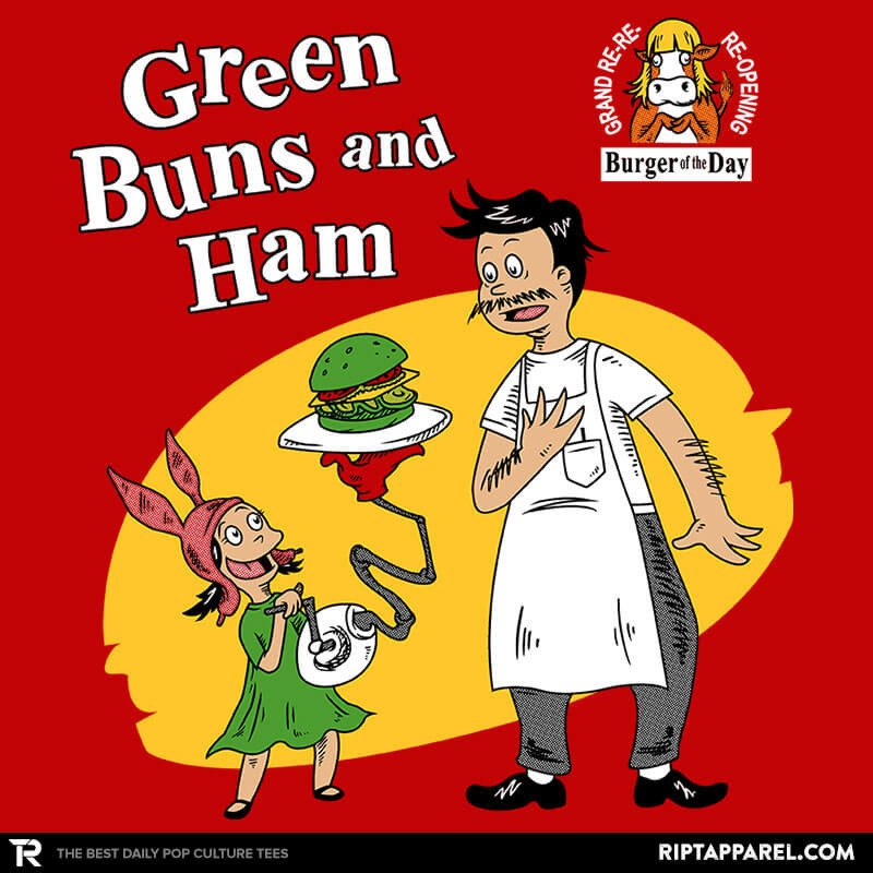Ript: Green Buns and Ham