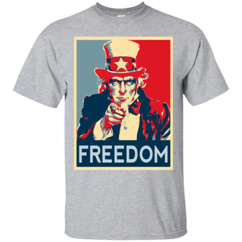 Pop-Up Tee: Freedom