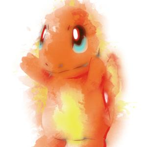 Qwertee: Fire Watercolor