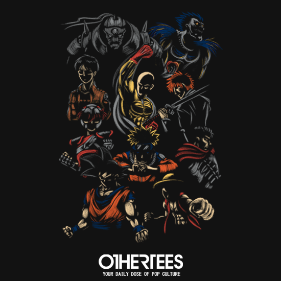 OtherTees: I Love Anime