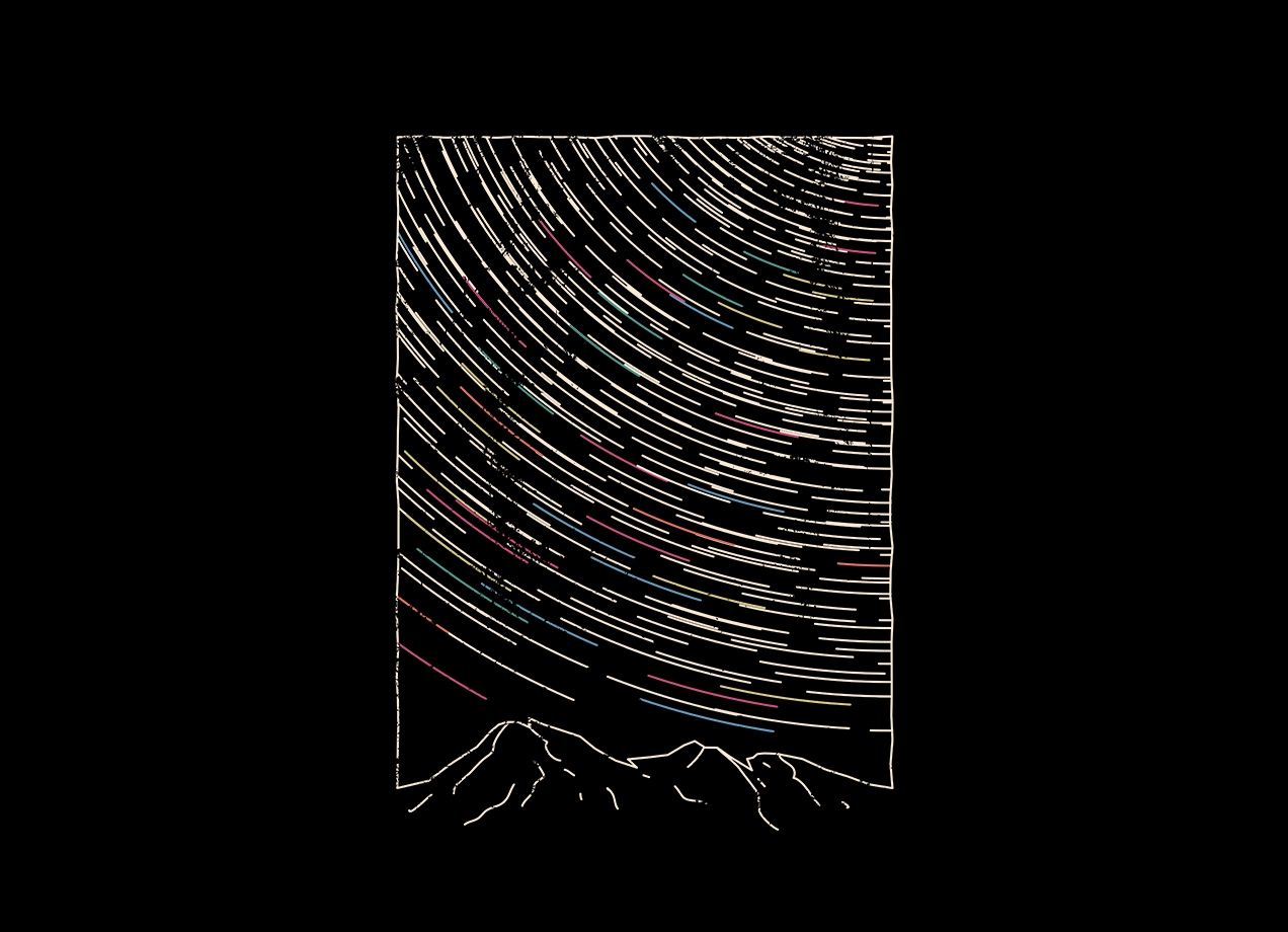 Threadless: Star Trails