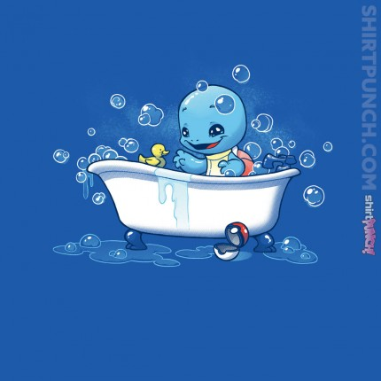 ShirtPunch: Bath Time