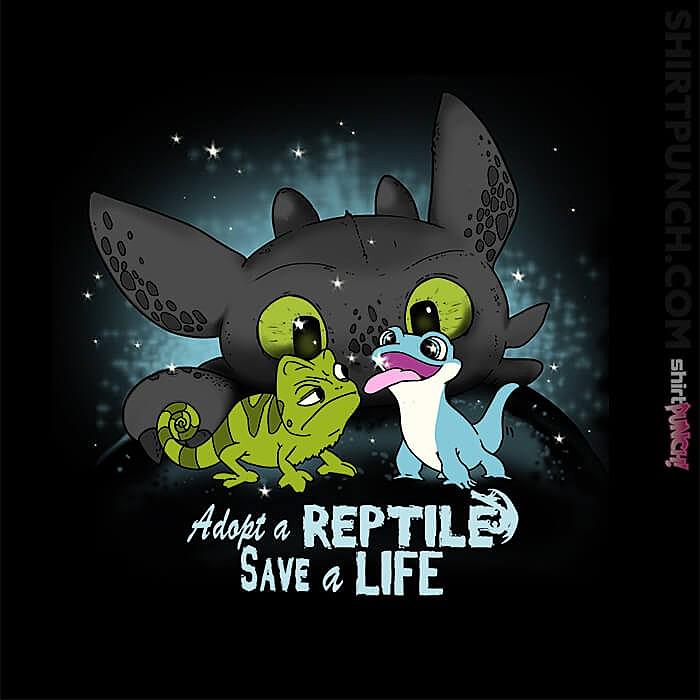 ShirtPunch: Adopt A Reptile
