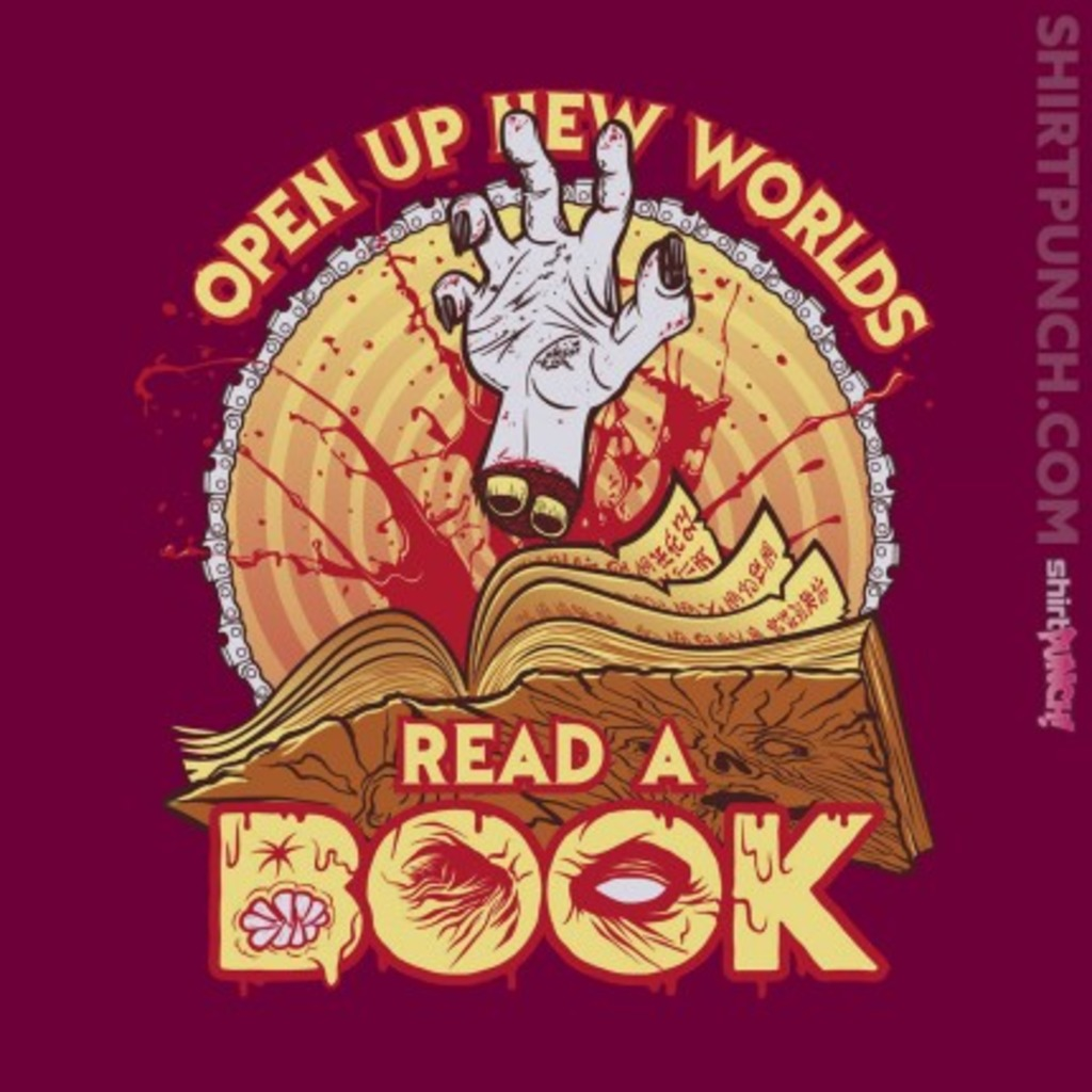 ShirtPunch: Read a Damn'd Book