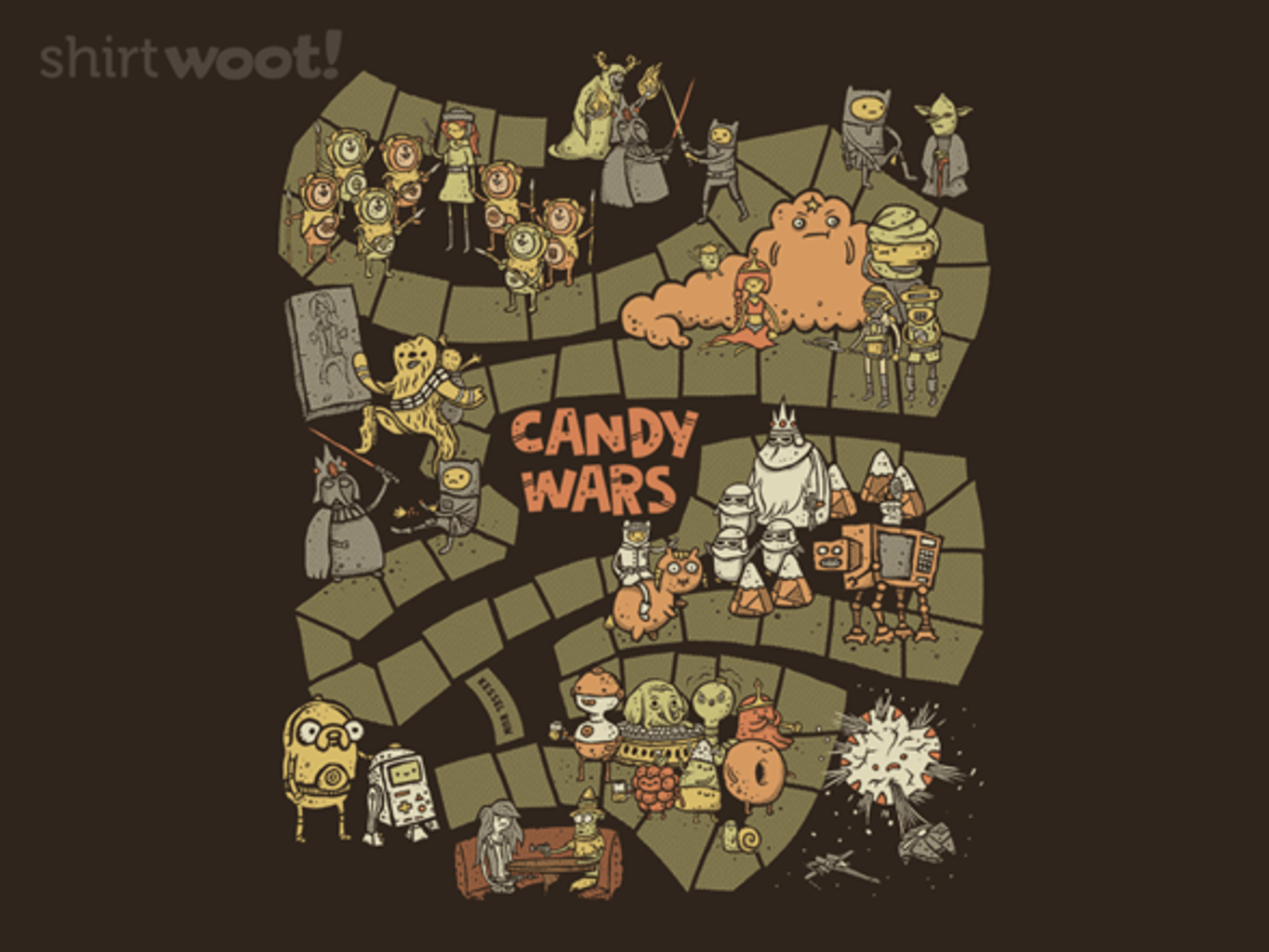 Woot!: Candy Wars: The Game - $15.00 + Free shipping