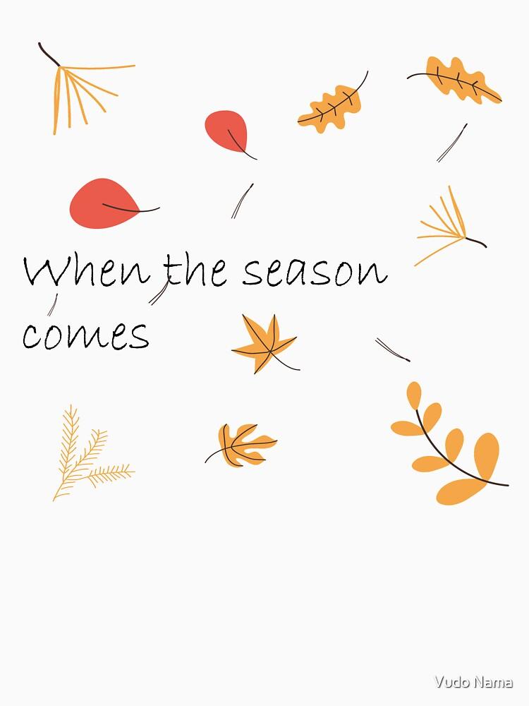 RedBubble: Falling Leaves, Season of Autumn