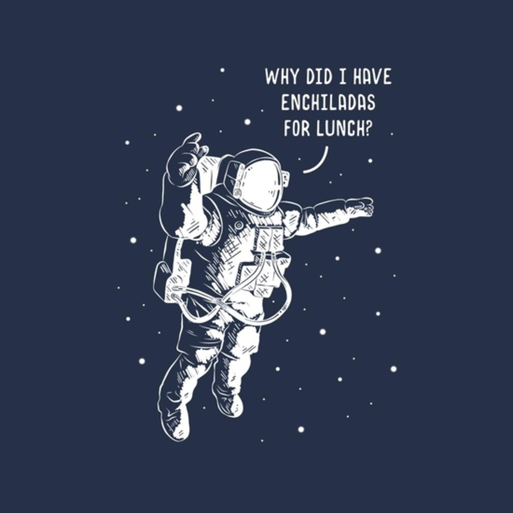 BustedTees: A Fart In A Spacesuit
