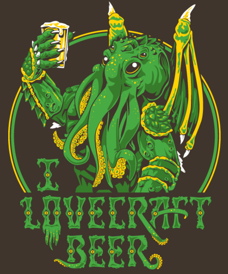 Qwertee: I Lovecraft Beer