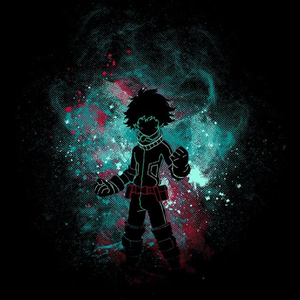 Once Upon a Tee: Izuku Art