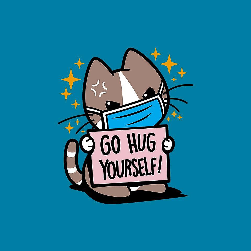 TeeFury: No Free Hugs