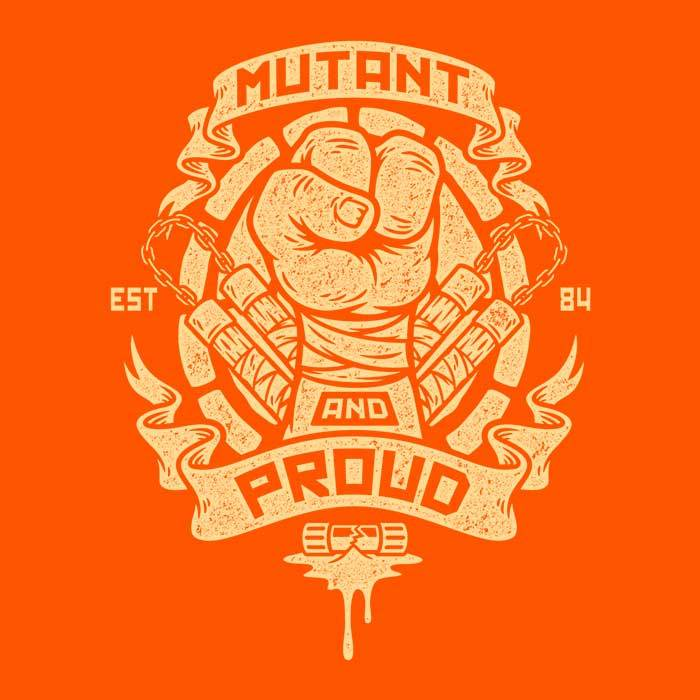 Once Upon a Tee: Mutant and Proud: Mikey - Women's Apparel