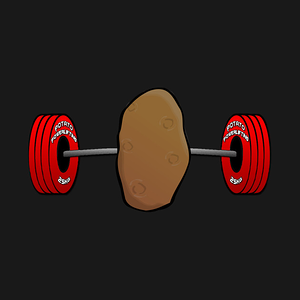 TeePublic: Potato Powerlifting