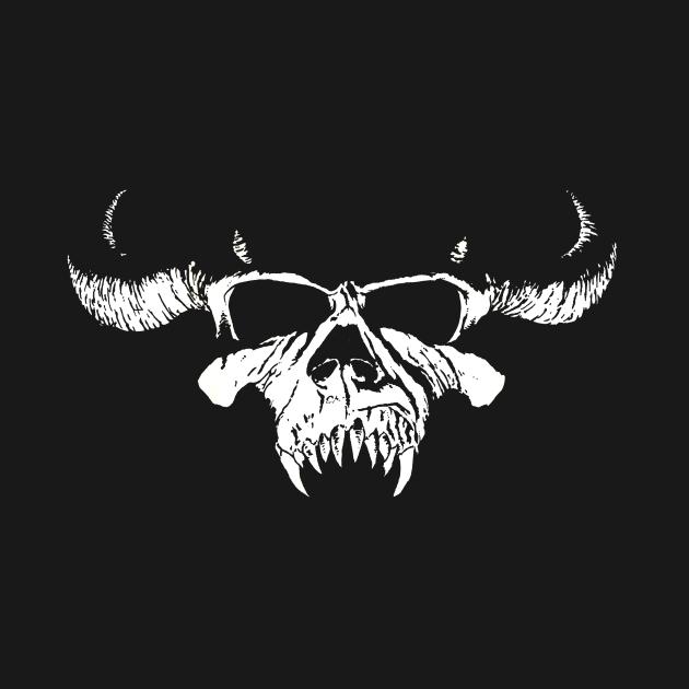 TeePublic: 90s-Skull