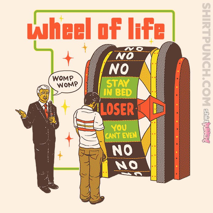 ShirtPunch: Wheel Of Life