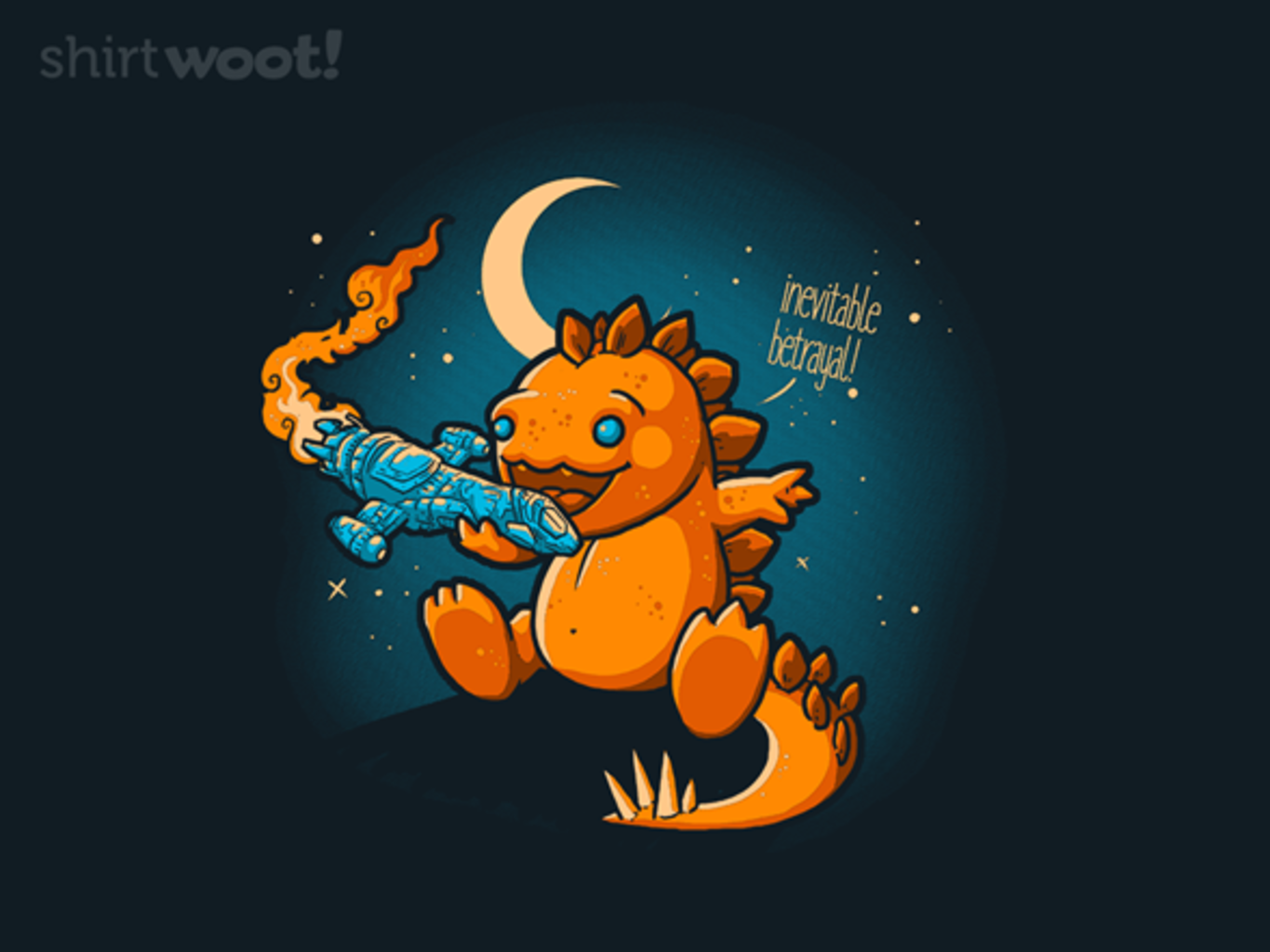 Woot!: The Inevitable Betrayal - $8.00 + $5 standard shipping