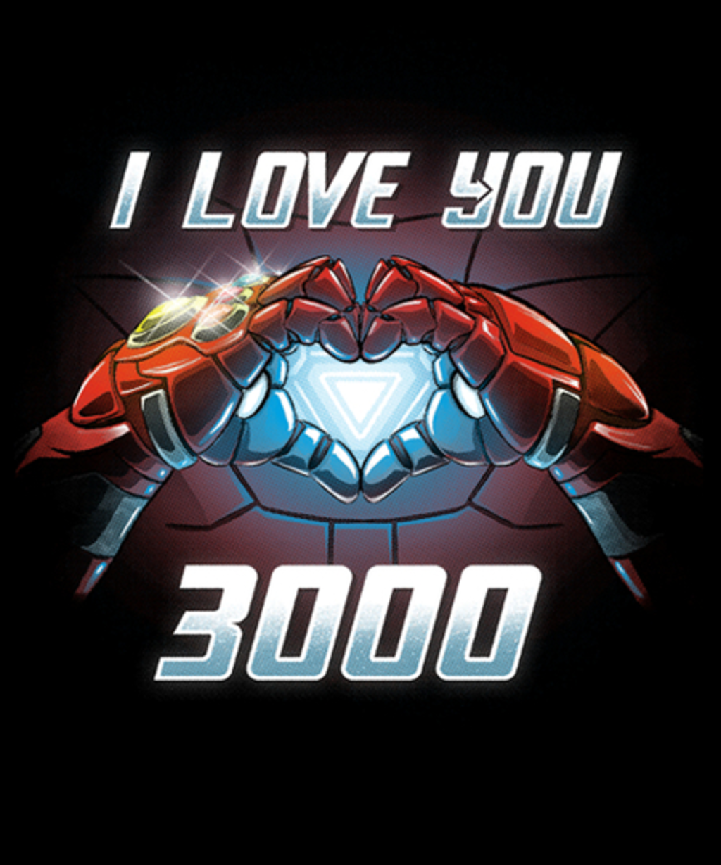 Qwertee: I Love You 3000