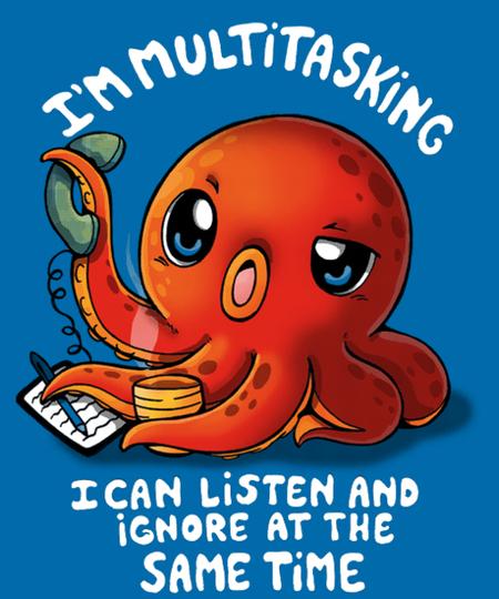 Qwertee: Multitasking