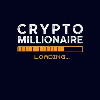BustedTees: Crypto Millionaire Loading Kids Shirt
