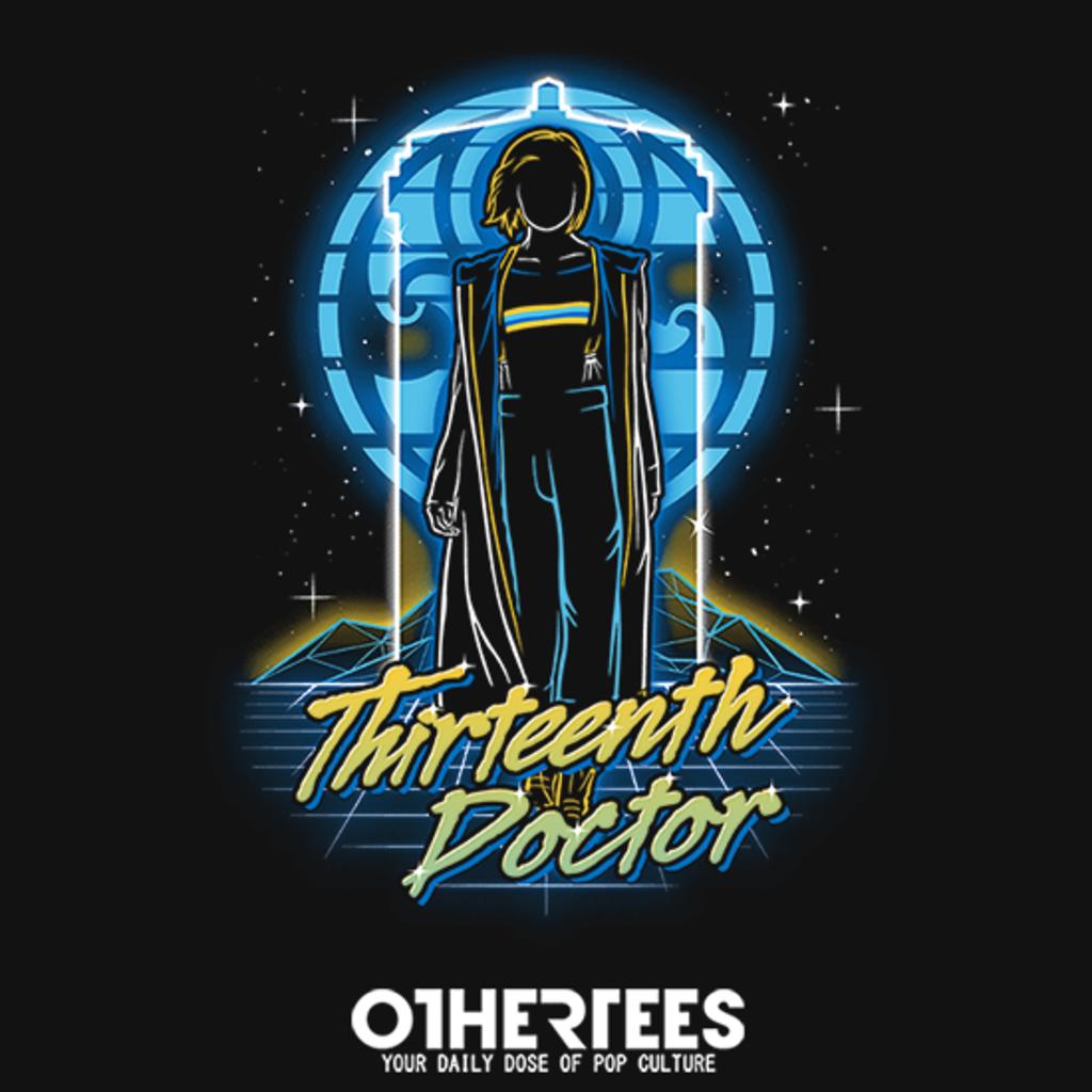 OtherTees: Retro Thirteenth Doctor