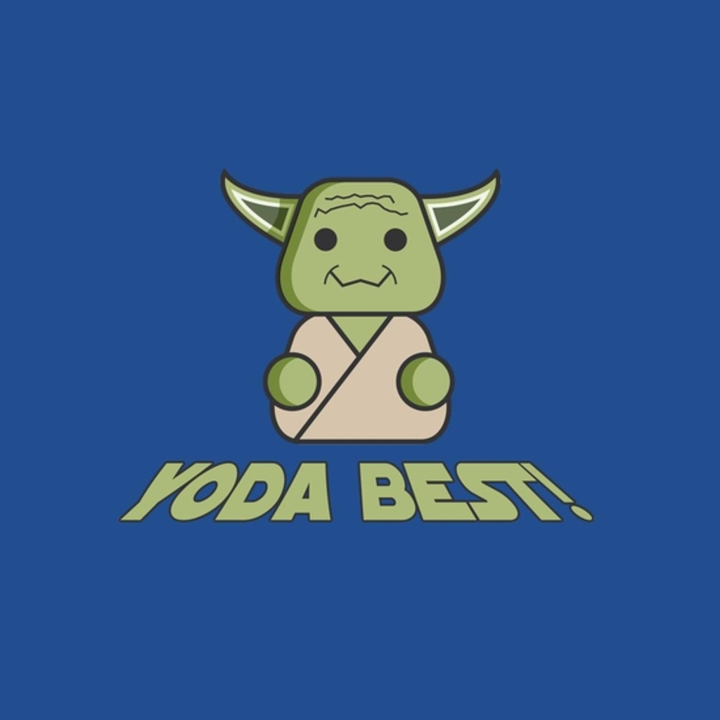 BustedTees: Yoda Best!