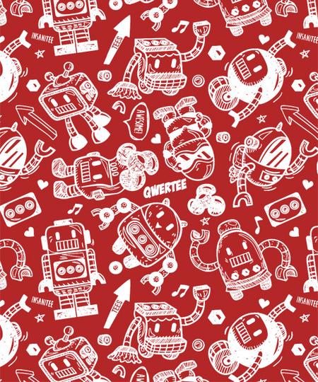 Qwertee: Robots!