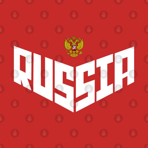 TeePublic: Team Russia
