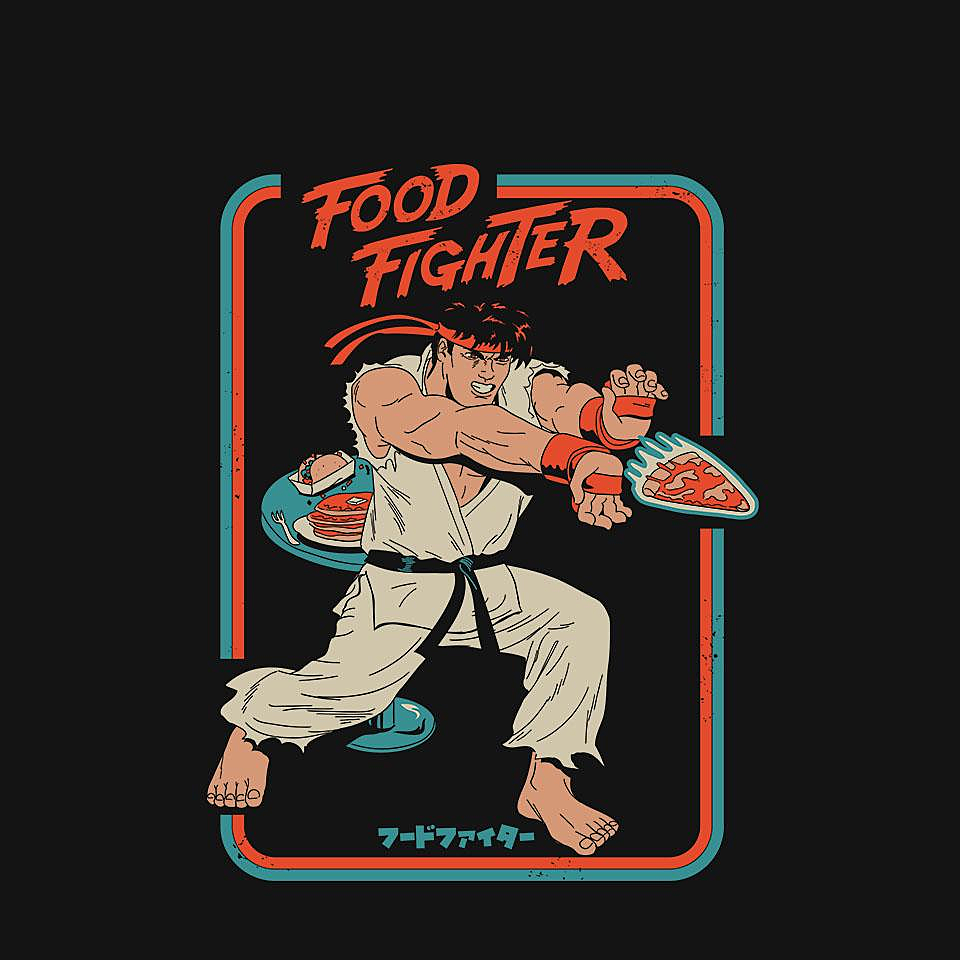TeeFury: Snack Attack