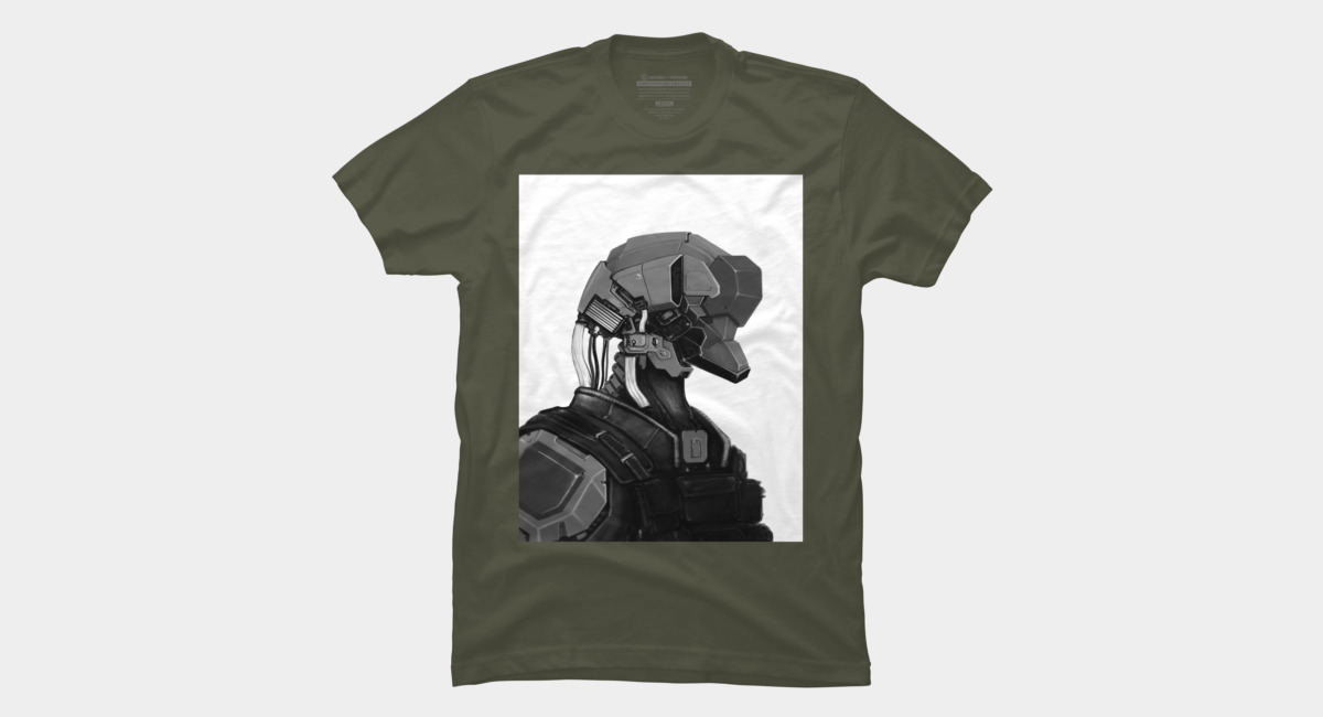 Design by Humans: Mech Head