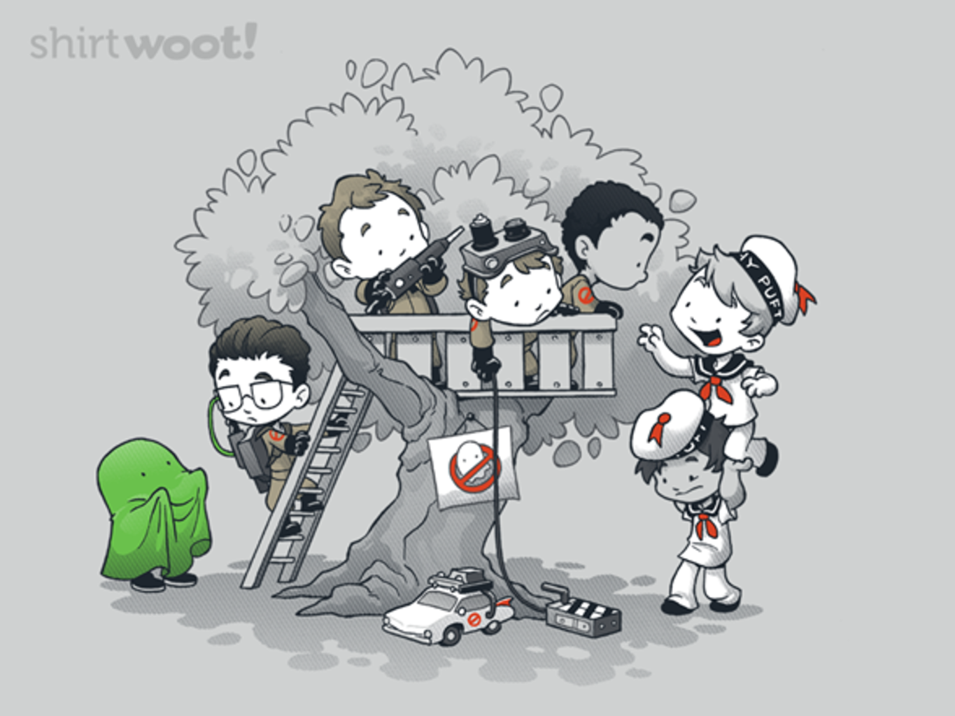 Woot!: Ghost Busting Clubhouse