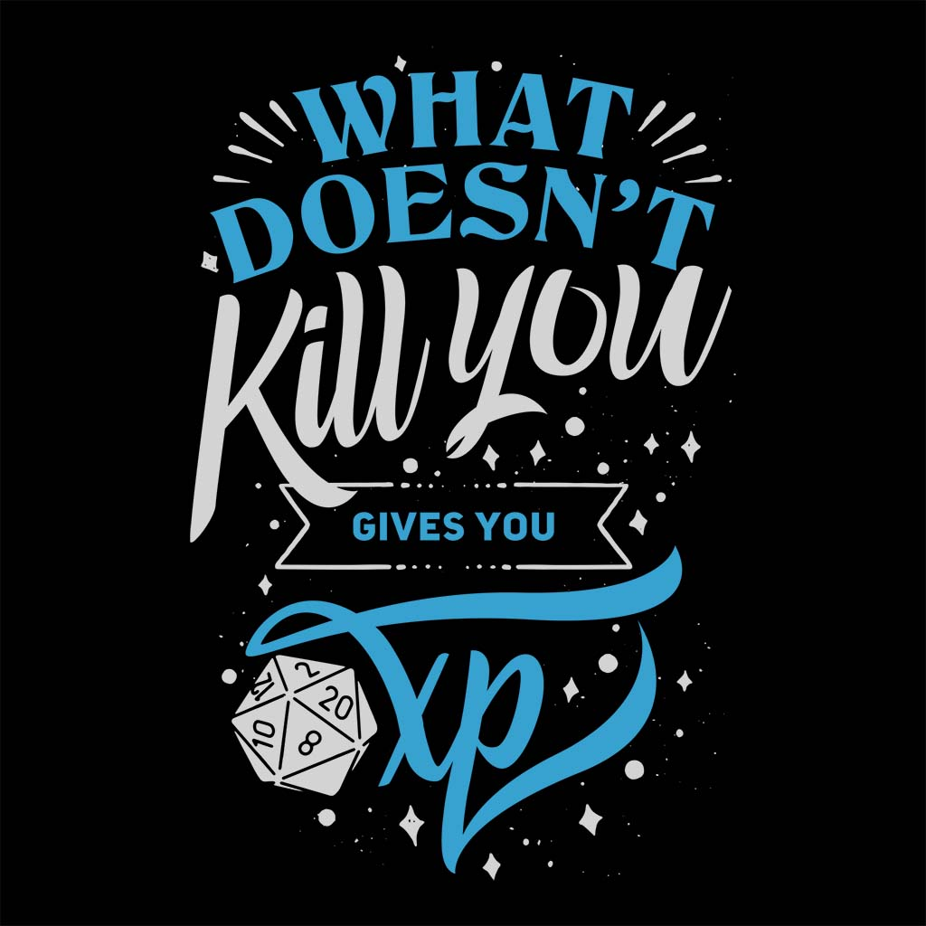 TeeTee: What doesn't kill you gives you XP