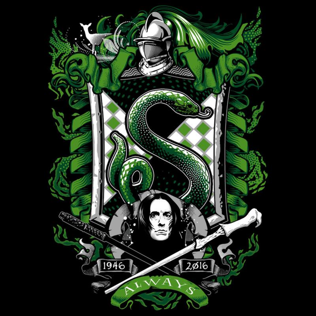 Curious Rebel: House Slytherin