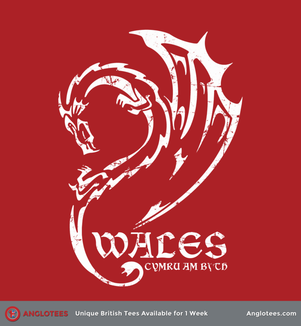 Anglotees: Welsh Dragon