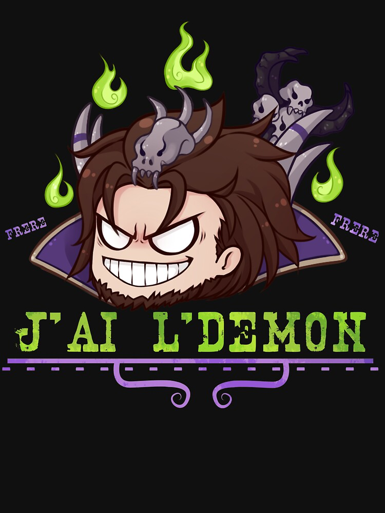 RedBubble: Warlock - I HAVE THE DEMON