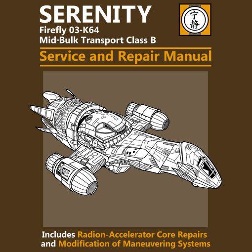 TeeFizz: Serenity Service and Repair Manual