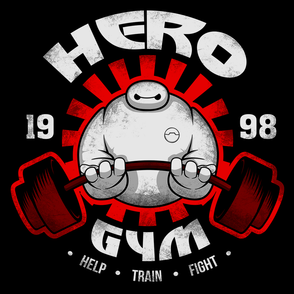 Pop-Up Tee: Hero Gym
