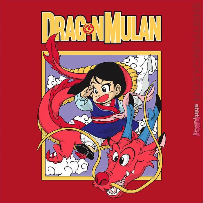ShirtPunch: Dragon Mulan