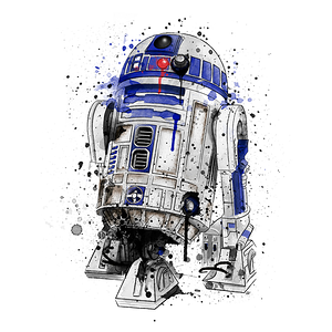 Pampling: Droid Watercolor