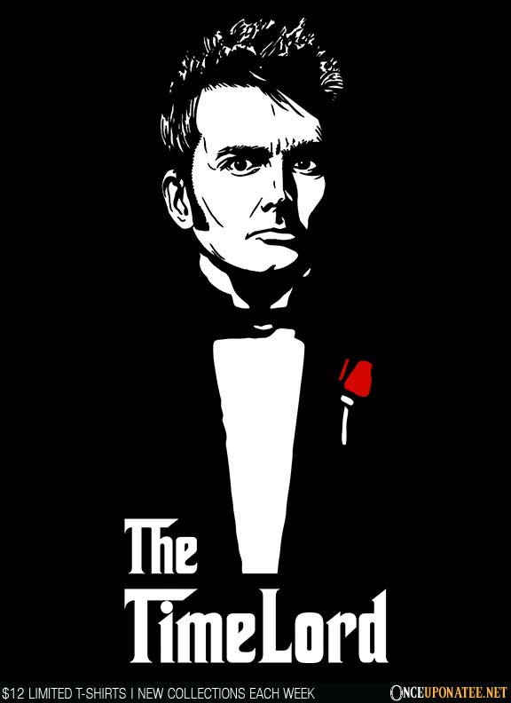 Once Upon a Tee: The Time Lord