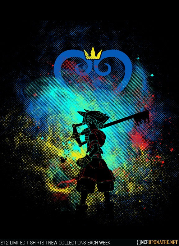 Once Upon a Tee: Keyblade Art