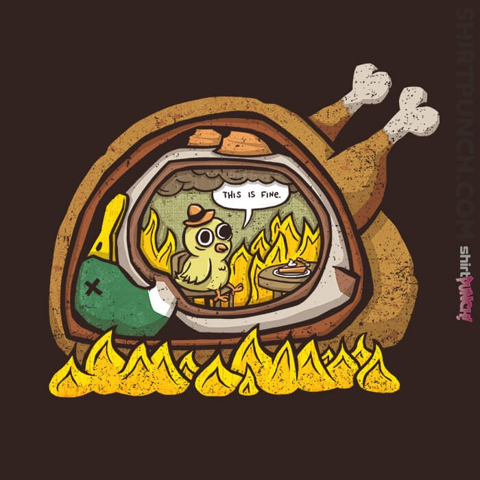 ShirtPunch: Turducken
