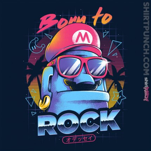 ShirtPunch: Born to Rock