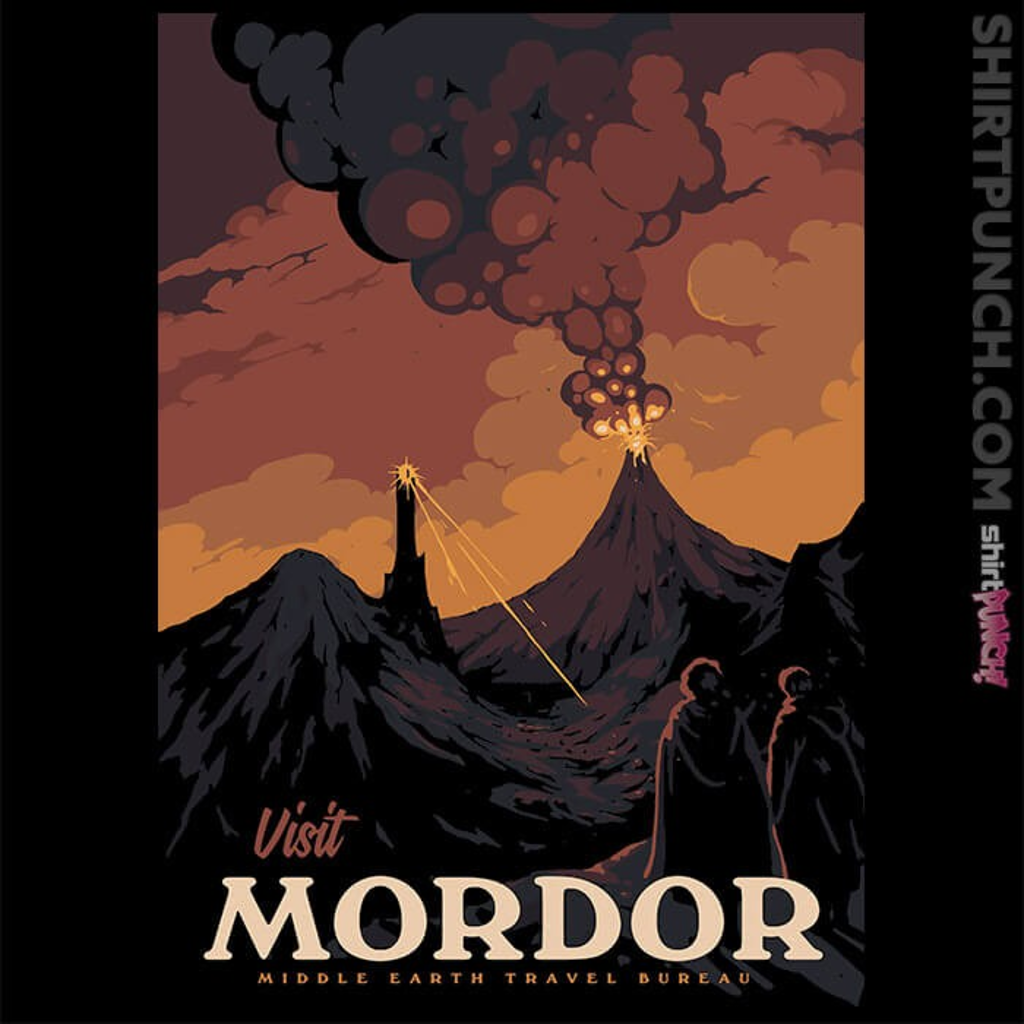 ShirtPunch: Visit Mordor