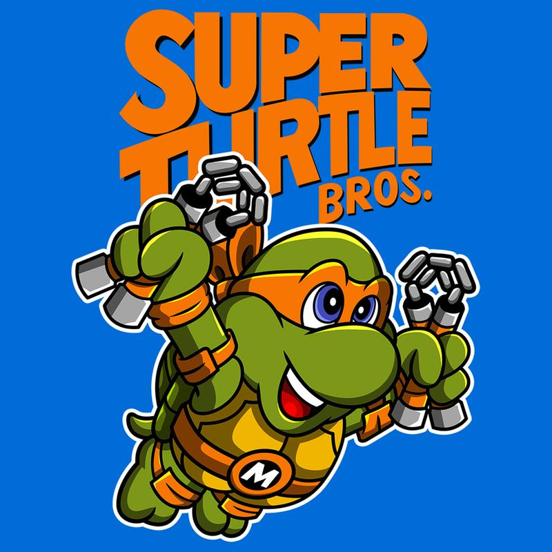 Curious Rebel: Super Turtle Bros Mikey